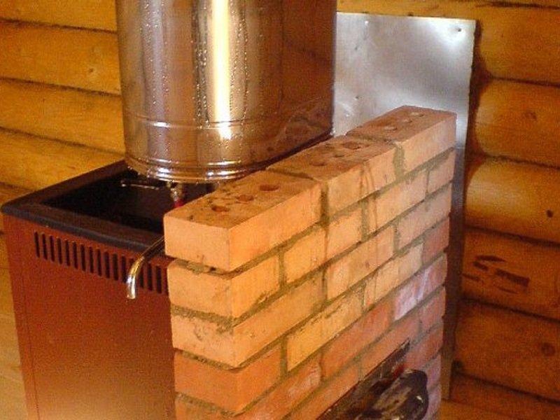 Рекомендации для лучшего способа установки бака для воды в бане