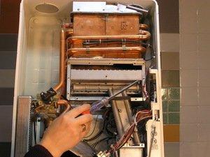 Самый простой вид ремонта газовой колонки - это устранение засоров.