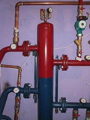 Назначение гидрострелки для систем отопления