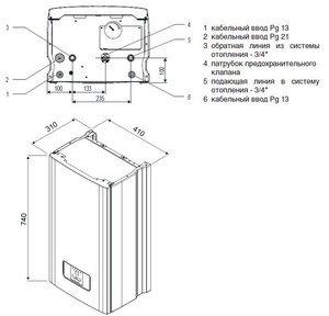Электрокотел протерм скат