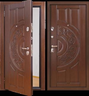 Как устроена входная утепленная дверь