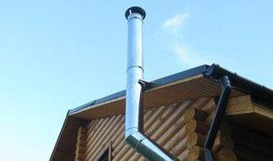 Модуль дымохода из нержавеющей стали сужение дымохода на верхней части