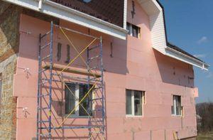 Утепление фасада дома современными материалами