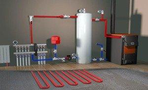 В чем особенность водяного отопления