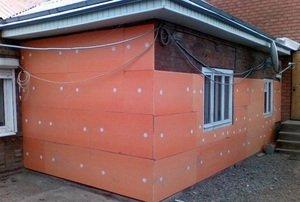 Утеплить дом пеноплексом