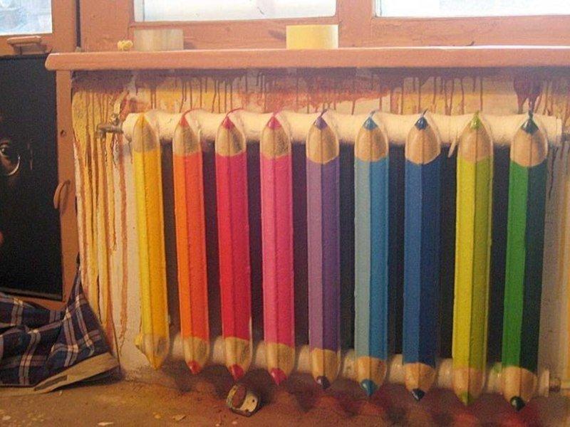 Выбираем цвет краски для окрашивания труб отопления