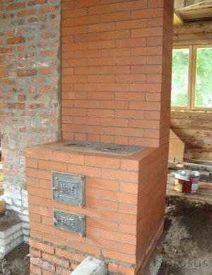 Кирпичная печь для домов