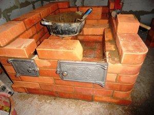 Правила кладки и установки печных элементов