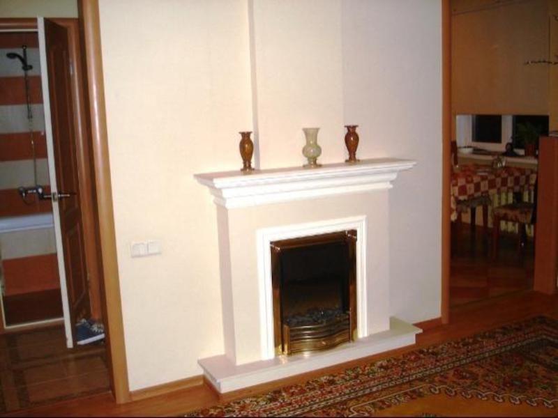 Кирпичная отопительная печь, печь-камин и дымоход из