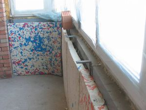 Как утеплить полукруглый балкон пошаговое.