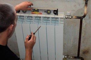Как самостоятельно сделать монтаж радиатора