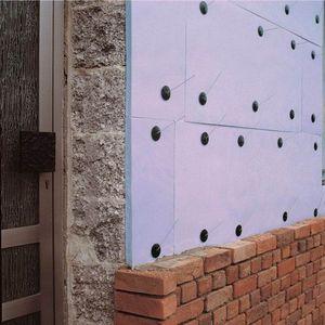Экструдированный пенополистирол как крепить к стене
