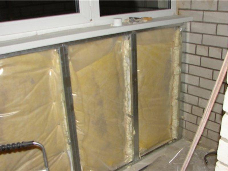 Утеплитель для стен балкона..