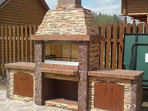 Из какого материала лучше всего строить печь барбекю