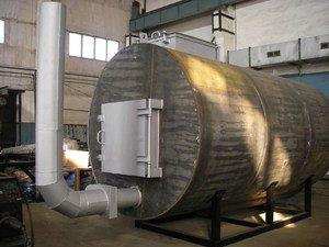 Печь для производства древесный уголь своими руками фото 876