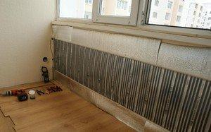 Инфракрасный теплый пол для стен