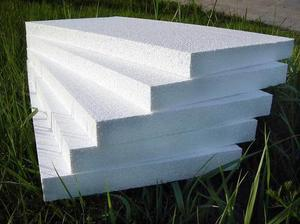Плиты пенопласта применяют для наружного утепления стен.