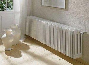 Батарея радиатор отопления в комнату