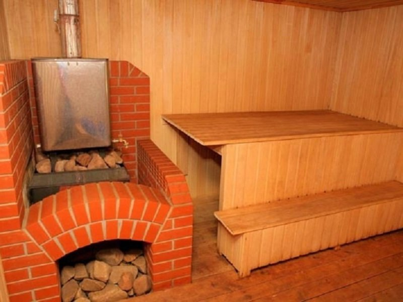 Как сделать печь для бани