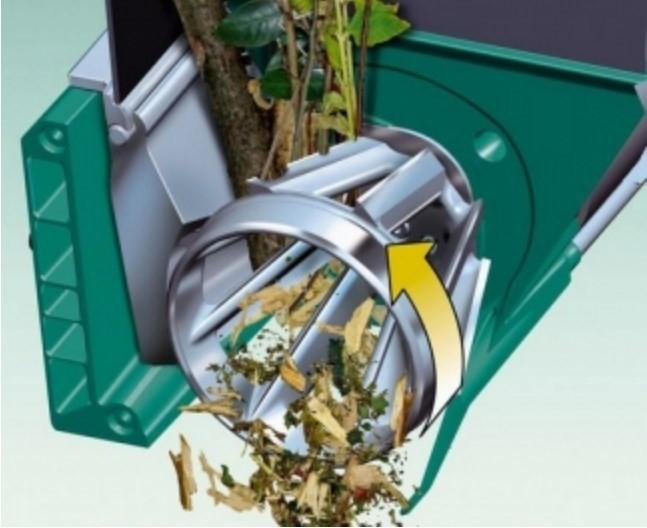 Фрезерно-турбинно ножевая конструкция