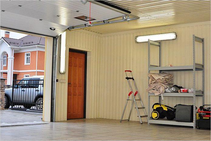 Общий вид гаража