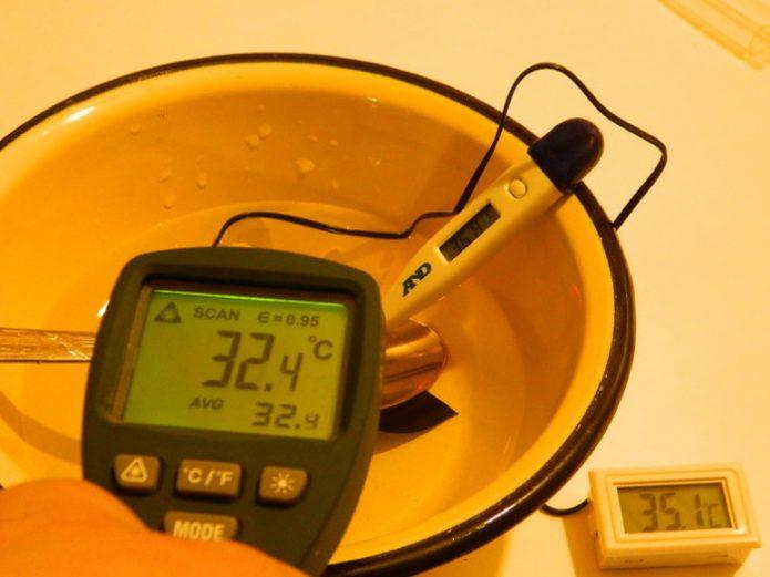 Измерение температуры водоснабжения