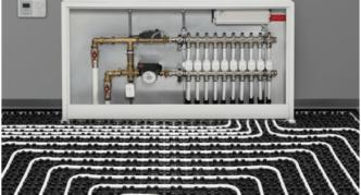 Как подключить теплый пол к системе отопления: пошаговая инструкция разных схем с фото и видео, обзор основных секретов и хитростей