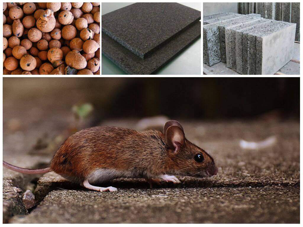 В каком утеплителе не водятся мыши